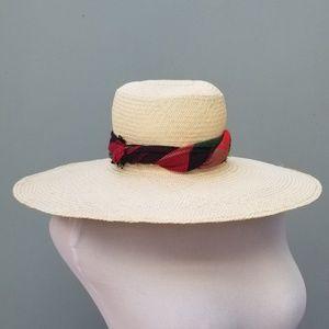 Handmade Natural Straw Sun Hat
